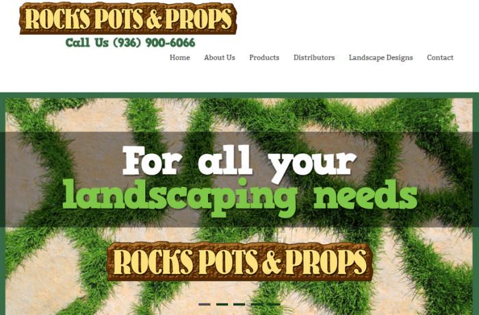Rocks Pots and Props